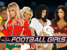 Видео-слот Benchwarmer Football Girls